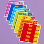 Mabels Labels Colourful Sticky Labels Gift Certificate!