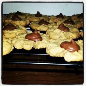 Peanut Butter Macaroon Cookies