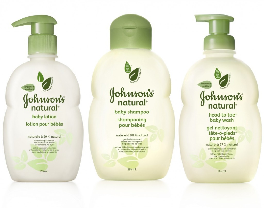 Johnsons Natural Baby