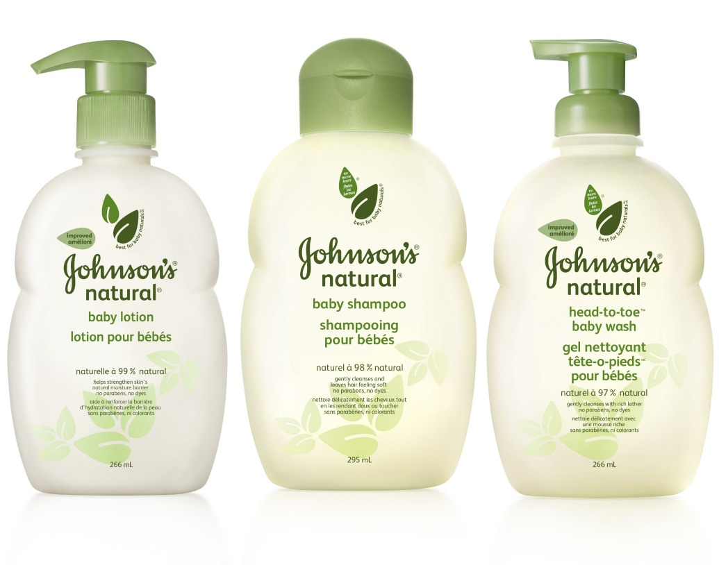Bath Time With Johnson S Natural Baby Products