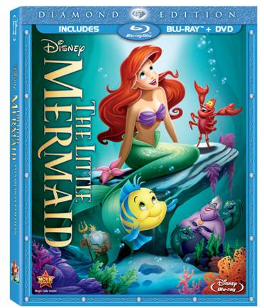 disney little mermaid diamond edition