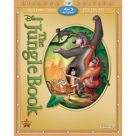 the jungle book on Blu Ray