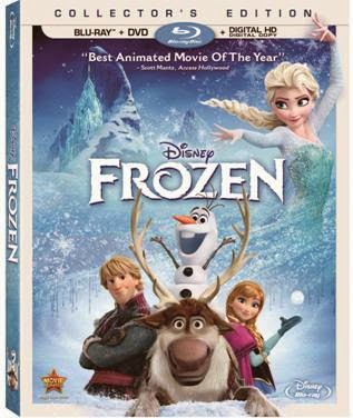 Frozen on Blu-Ray