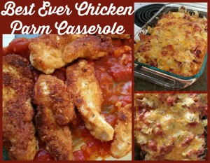Best Ever Chicken Parm Casserole