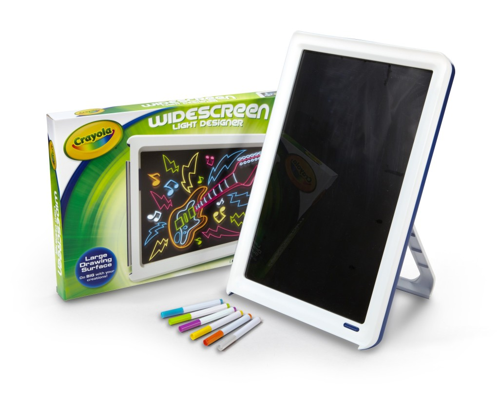 Crayola Widescreen Light Designer Review Holiday Gift Guide