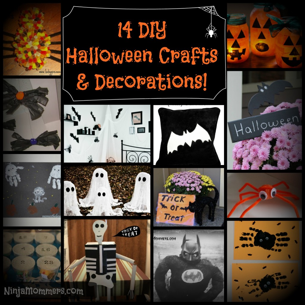 14 amazing diy halloween crafts decoration ideas. Black Bedroom Furniture Sets. Home Design Ideas