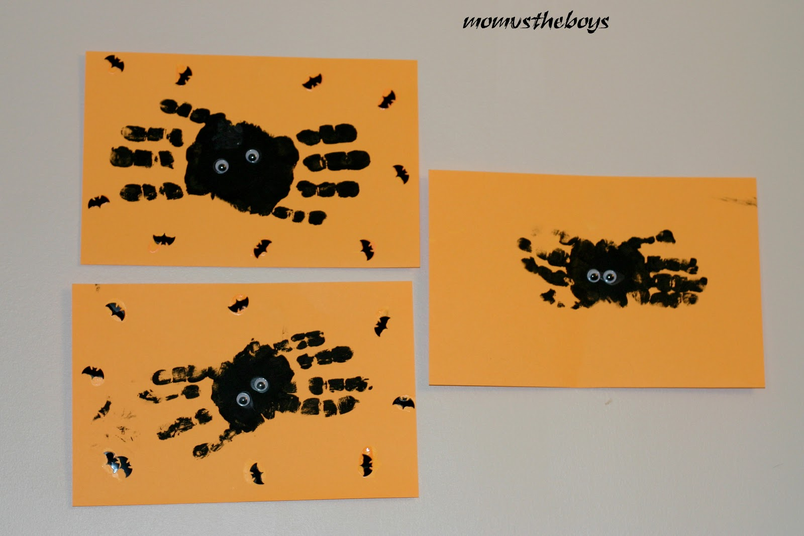 spiders finished 2 - Diy Halloween Crafts