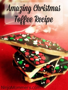 Christmas Toffee Recipe