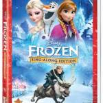 Frozen Sing-Along Edition from Disney! New This Month! #HolidayGiftGuide