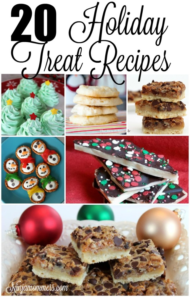 20 Holiday Treat Recipes