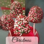 Christmas Cake Pops Recipe- Chocolate Dipped Holiday Goodness