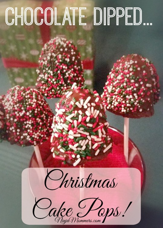 Christmas Cake Pops Recipe Chocolate Dipped Holiday Love