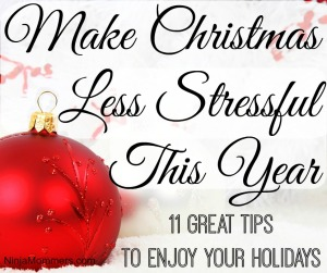 Make Christmas Less Stressful