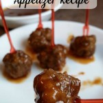 Best Ever Meatball Appetizers Recipe- Sweet and Tangy Meatballs