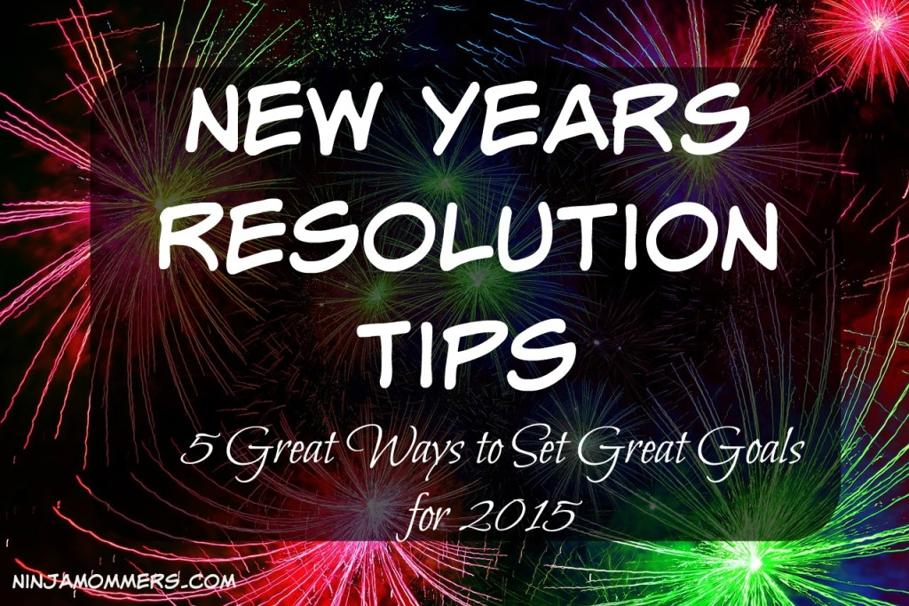 New Years Resolution Tips