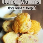 Ham Egg and Cheese Muffins Recipe- Make Ahead Lunch