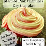 Valentine's Day Cupcakes Recipe With Raspberry Swirl Icing