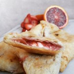 Best Turnover Recipe- Strawberry, Blood Orange and Cream Cheese Turnovers