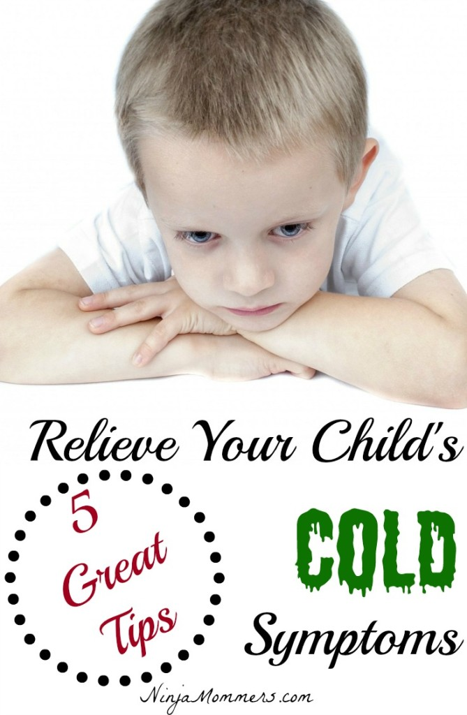 Relieve Your Child's Cold Symptoms
