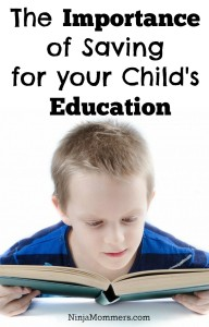 Importance of Saving for Your Child's Education