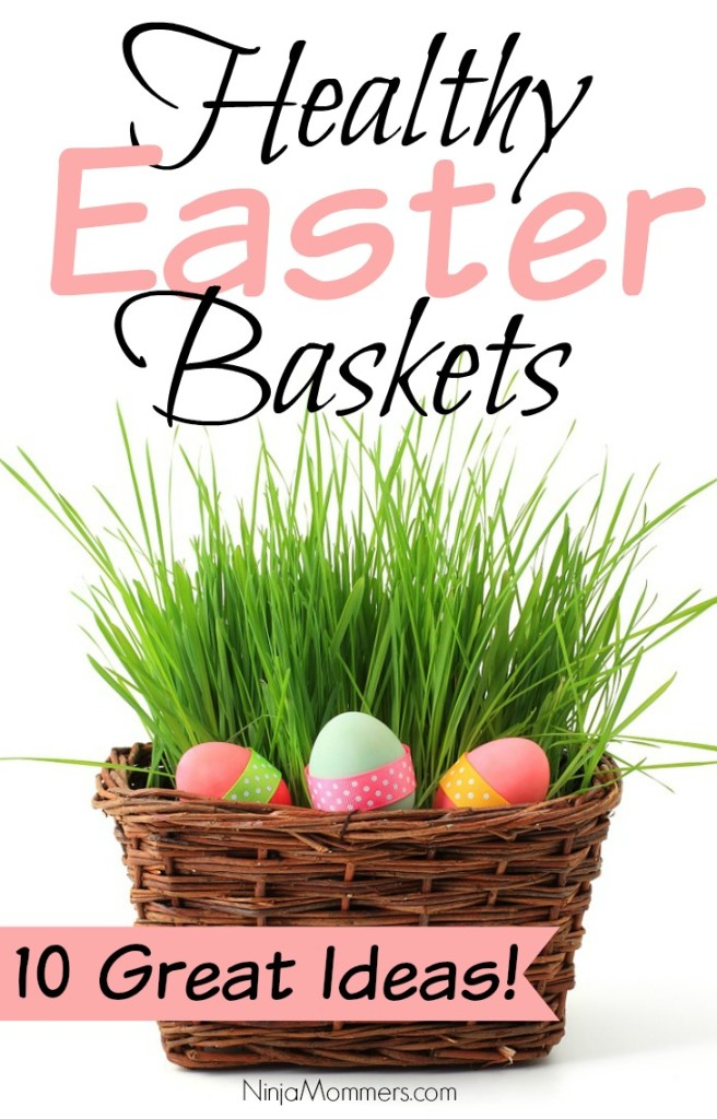 Healthy easter basket ideas 10 great ideas for this easter healthy easter baskets negle Images