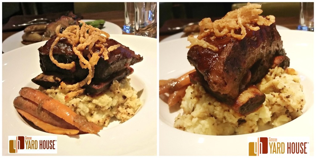 Hockley Valley Beer Braised Beef Short Ribs Collage
