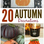 20 Autumn Decorations that you can make yourself
