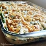 Green Bean Casserole Recipe- Side Dish-No Canned Soup
