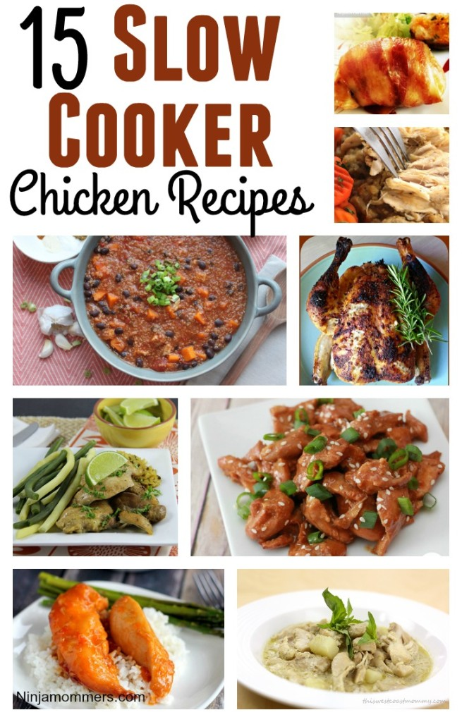 Slow Cooker Chicken Recipes Pin