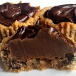 Fudge Filled Peanut Butter Chocolate Chip Cookie Tarts-Recipe
