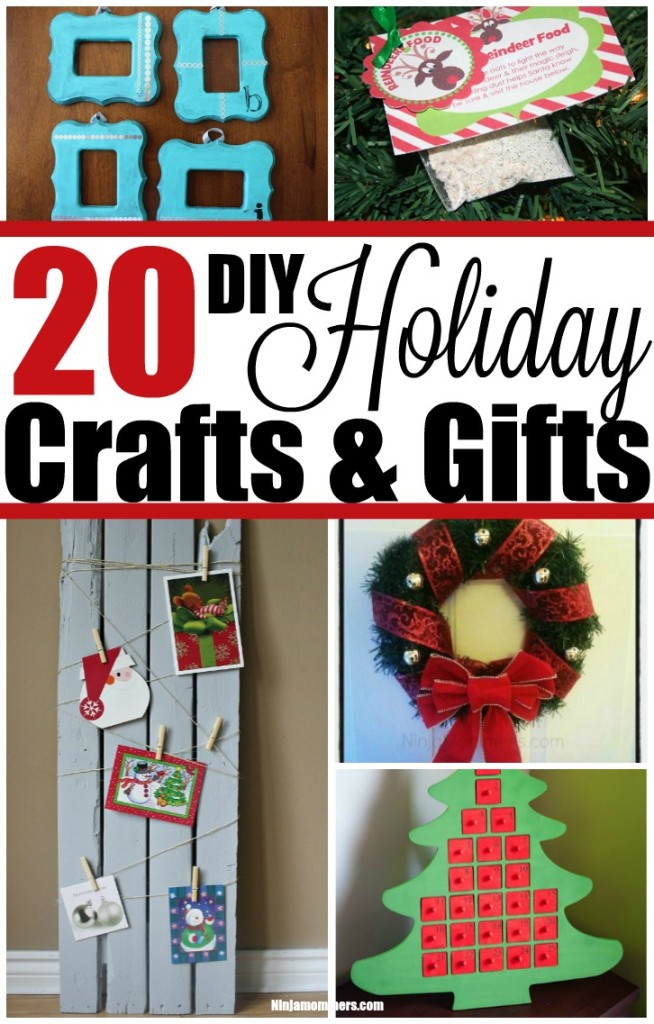 20 DIY Holiday Crafts and Gifts
