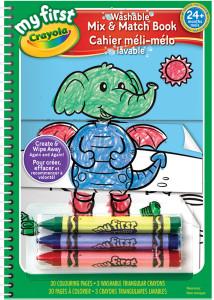 Crayola My First Mix & Match Book