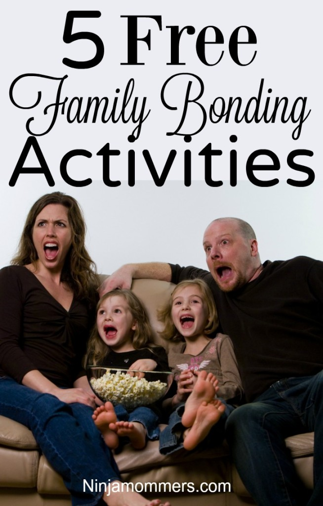 Activities to Bond with Your Kids