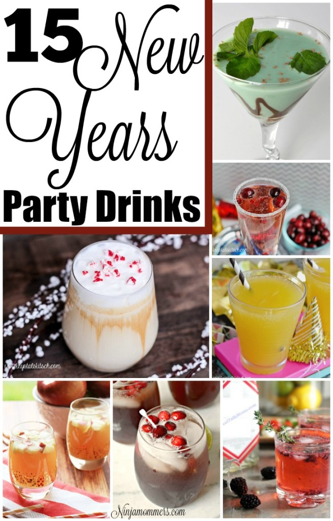 15 New Years Party Drinks