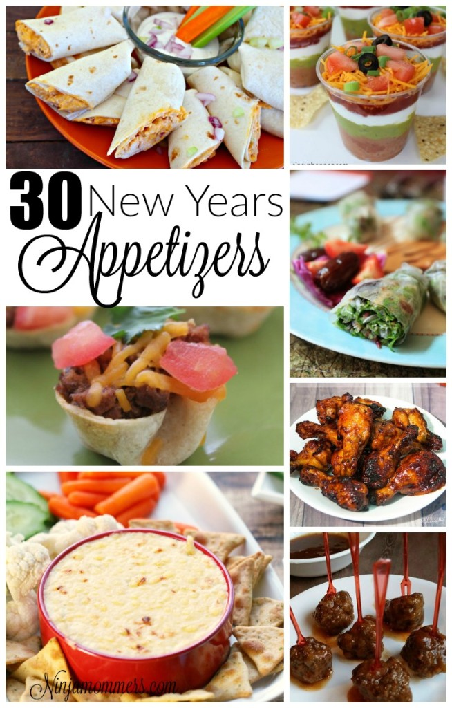 30 New Years Appetizer Recipes