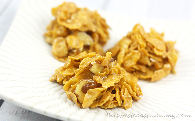 Corn-flake-toffee-drop-cookies