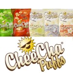 CheeCha Puffs- Satisfy Your Inner Snack-a-holic Without the Guilt! @CheeChaPuff #CheeChaLove #Giveaway