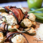Bacon Wrapped Apple Stuffed Jalapeno Poppers Recipe #duBretonDelicious