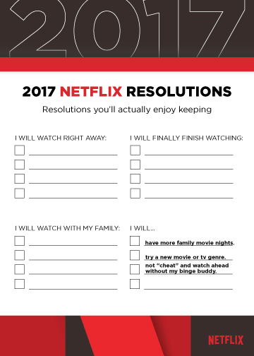 Netflix New Years