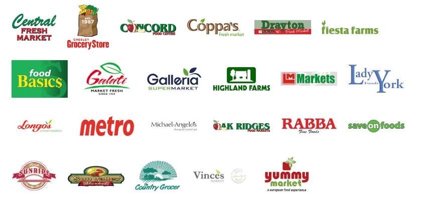 2017 Participating Retailers