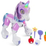 Zoom into Christmas with the Zoomer Enchanted Unicorn Interactive Toy #NMHoliday #FunWithSpin